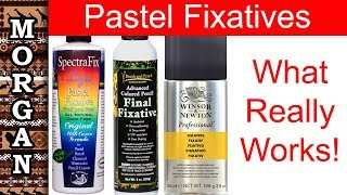 Download PASTEL FIXATIVE Spray review - soft pastel : pastel pencil Video