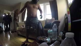 Download FBI / Homeland Sec. raids RNC activists - guns out - no warrant Video
