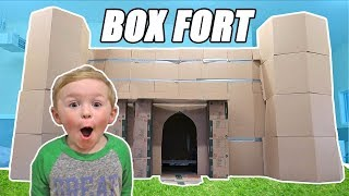 Download Halloween Box Fort Haunted House Tour | DavidsTV Video