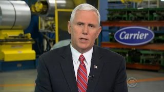Download Mike Pence on Carrier deal, Trump's campaign promises Video