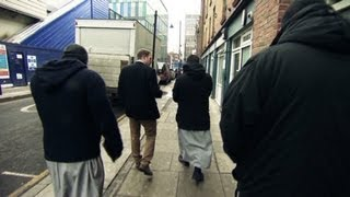 Download London's 'Muslim Patrol' aims to impose Sharia law in East London Video