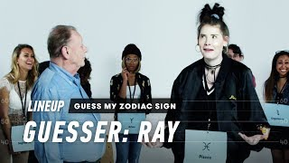 Download An Astrologer Guesses Strangers' Zodiac Sign (Ray) | Lineup | Cut Video
