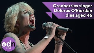 Download The Cranberries singer Dolores O'Riordan dies aged 46 Video