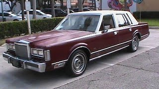 Download 1988 Lincoln Town Car 4dr Sedan-For Sale In South Florida Video