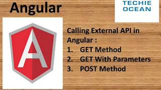Download Angular 7 Call Rest API using Get with Params and POST Video