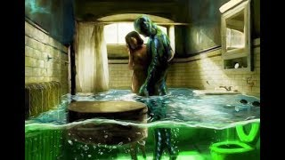 Download The Shape of Water | Bathroom Scene Painting Video