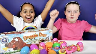 Download GROSS Doggie Doo Toy Challenge Game - Gooey Poo - Noise Putty - Shopkins Surprise Eggs Video