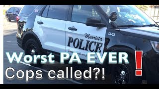 Download Service dog public access problem//COPS CALLED, THE WORSE PA PROBLEM YET Video