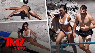 Download Nicole Scherzinger Shows Off Her Hot Bod While Doing The Splits In A Bikini | TMZ TV Video