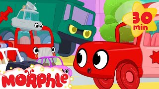 Download Morphle vs vehicle bandits. Ambulance, fire truck, dump truck, police car and many other vehicles! Video