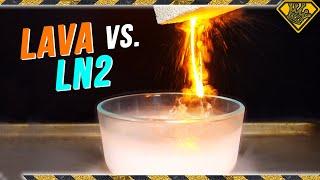 Download When HOT LAVA meets COLD LIQUID NITROGEN! Video