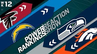 Download Power Rankings Week 12 Reaction Show: Biggest Threat to the Eagles in the NFC? | NFL Network Video