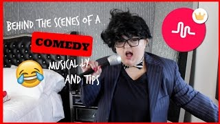 Download BEHIND THE SCENES OF A COMEDY MUSICAL LY + TIPS Video