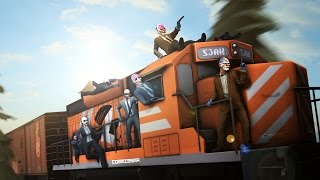 Download [Payday 2] Death Wish - Transport: Train Heist (Solo Stealth) [Silent Saw] Video