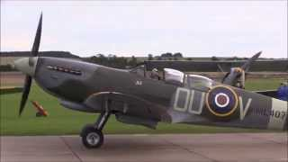Download 17 Spitfires in formation at Duxford 2015 Battle of Britain 75th Anniversary Video