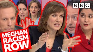 Download Row breaks out over Harry & Meghan royal finances question! | Question Time - BBC Video