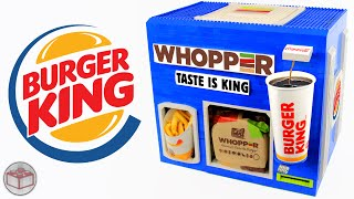 Download LEGO Burger King WHOPPER Meal Machine | French Fries & Coca Cola Video
