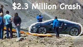 Download $2.3 MILLION BUGATTI VEYRON CRASHES BADLY Video