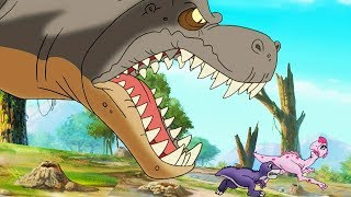 Download The Land Before Time | Scariest Sharptooth Moments Compilation | Videos For Kids Video