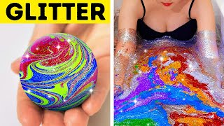 Download 36 AMAZING GLITTER IDEAS TO MAKE YOU SHINE || LITERALLY Video