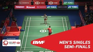 Download SF | MS | Viktor AXELSEN (DEN) [1] vs Kento MOMOTA (JPN) [3] | BWF 2018 Video