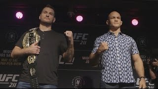 Download UFC 211: Media Day Faceoffs Video