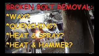 Download Can You Get Out A Broken Bolt With Wax!? Video