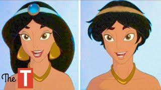 Download 10 Disney Princesses Reimagined As Opposite Genders Video