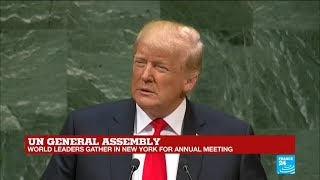 Download UN General Assembly: Watch Donald Trump's full address Video