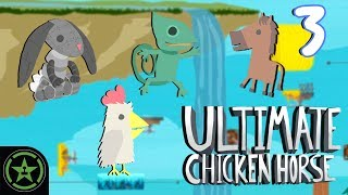 Download Let's Play - Ultimate Chicken Horse - Not the Cheddar (Part 3) Video