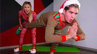 Download COUPLES CHRISTMAS YOGA CHALLENGE! Video
