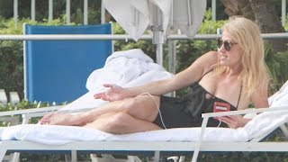 Download Kellyanne Conway Vacations in Miami After Trump Win | Splash News TV Video