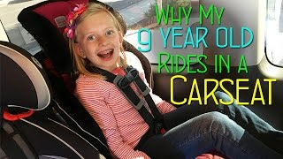 Download Why My 9 Year Old Rides In a Car Seat || Mommy Monday Video