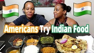 Download Americans Try Indian Food Mukbang Video