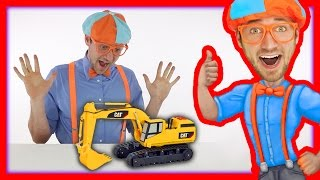 Download Learn the Parts of an Excavator with Blippi Toys Video