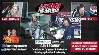 Download Chicago's Morning Answer - Joan Lasonde - October 18, 2016 Video