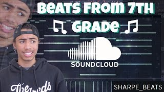 Download Reacting To My Old Beats!! (Beats From 7th Grade) | Sharpe Video