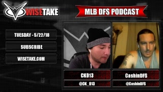 Download MLB FanDuel & DraftKings Lineup Strategy - 5/22/18 w/ @CK 013 & @CashinDFS Video