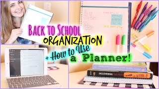 Download School Organization/Study Tips & How to Use a Planner! | Aspyn Ovard Video