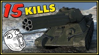 Download T-34-85M - 15 KILLS - World of Tanks Gameplay Video