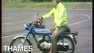 Download Vintage Motorcycles   Scooters   Mopeds   Motorbikes   Drive in 1975 Video