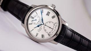 Download Glashuette Original Senator Chronometer in 18kt White Gold (Ref. 58-01-01-04-04) Video