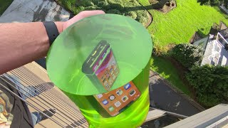 Download Can World's STRONGEST JELLO Protect iPhone 11 Pro from 50 FT Drop Test? Video