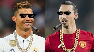Download Cristiano Ronaldo & Zlatan Ibrahimovic ● Best Thug Life Compilation | HD Video