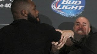 Download Jon Jones and Daniel Cormier Brawl (Complete Fight) Video