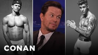 Download Mark Wahlberg: Justin Bieber Sent Me His Calvin Klein Ad - CONAN on TBS Video