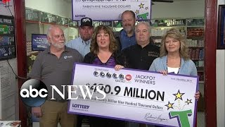 Download Tennessee 20 Lotto Winners Interview Video