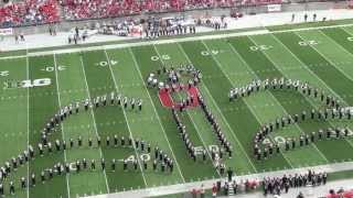 Download Ohio State Marching Band ″Disney Tribute″ Halftime vs Buffalo: Aug. 31, 2013 Video
