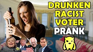 Download Drunken Racist Voter Prank - Ownage Pranks Video