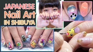 Download Cute Japanese Nail art by Cabbage Manami in Shibuya Video